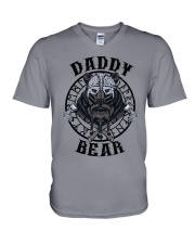 Viking Shirt : Daddy Bear Viking V-Neck T-Shirt thumbnail