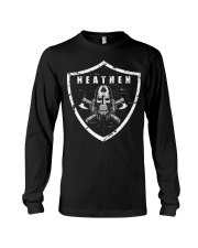 Heathen Shield - Viking Shirt Long Sleeve Tee thumbnail