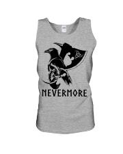 Viking Shirt - Nevermore Raven Viking Axe Unisex Tank thumbnail