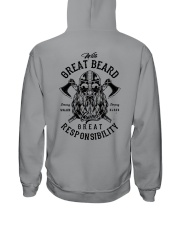 Viking Shirt : Great Beard - Great Responsibility Hooded Sweatshirt thumbnail