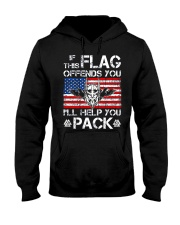 If This Flag Offends You - Viking Shirt Hooded Sweatshirt thumbnail