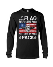 If This Flag Offends You - Viking Shirt Long Sleeve Tee thumbnail