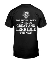 I Will Do Great And Terrible Things - Viking Shirt Classic T-Shirt thumbnail