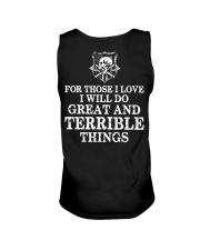 I Will Do Great And Terrible Things - Viking Shirt Unisex Tank thumbnail