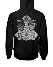 RAVEN VIKING - VIKING T-SHIRTS Hooded Sweatshirt back