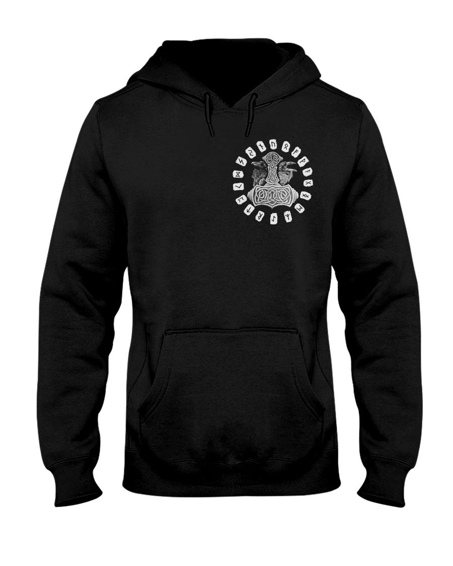 RAVEN VIKING - VIKING T-SHIRTS Hooded Sweatshirt