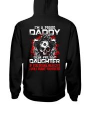I'm A Proud Daddy - Viking Shirt Hooded Sweatshirt back
