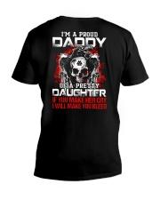 I'm A Proud Daddy - Viking Shirt V-Neck T-Shirt thumbnail