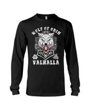 Viking Shirt : Wolf Of Odin Valhalla Long Sleeve Tee thumbnail