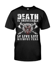 So Live Life Without Fear - Viking Shirt Classic T-Shirt front