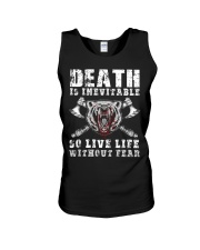 So Live Life Without Fear - Viking Shirt Unisex Tank thumbnail