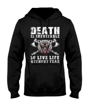 So Live Life Without Fear - Viking Shirt Hooded Sweatshirt thumbnail