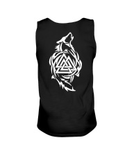 Viking Shirt - Viking Wolf And Valknut Unisex Tank thumbnail