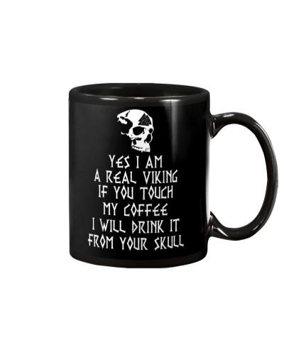 I Am A Real Viking - Viking Mugs