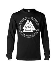 Viking Valknut Mean - Viking Shirt Long Sleeve Tee thumbnail