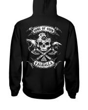 Viking Shirt : SonsofOdin - Valhalla Hooded Sweatshirt thumbnail
