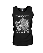 Viking Shirt : Where The Brave May Live Forever Unisex Tank thumbnail