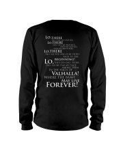 Viking Shirt : Where The Brave May Live Forever Long Sleeve Tee tile