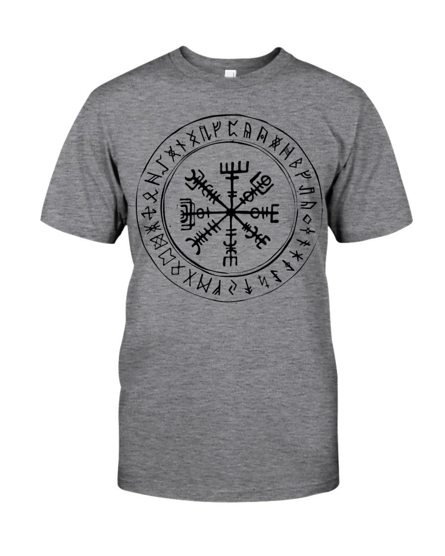 Vegvisir Viking Rune Viking - Viking Shirt Classic T-Shirt