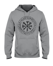 Vegvisir Viking Rune Viking - Viking Shirt Hooded Sweatshirt tile