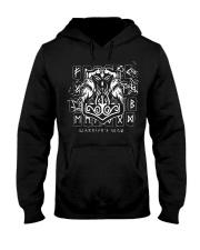 Warrior's Way Hammer Viking - Viking Shirt Hooded Sweatshirt thumbnail