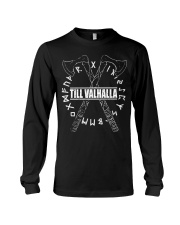 Till Valhalla - Viking Shirt Long Sleeve Tee thumbnail