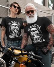 Viking Shirt - Go To Valhalla Classic T-Shirt custom-t-shirts-classic-lifestyle-front-298