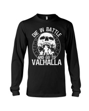 Viking Shirt - Go To Valhalla Long Sleeve Tee thumbnail
