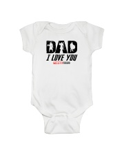 I LOVE YOU TREE THOUSAND - VIKING T-SHIRTS Onesie front