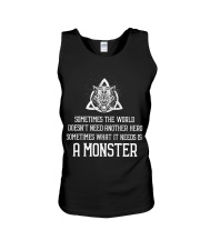 What It Needs Is A Monster - Viking Shirt Unisex Tank thumbnail