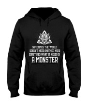 What It Needs Is A Monster - Viking Shirt Hooded Sweatshirt thumbnail