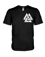 Viking  Backbone - Viking Shirt V-Neck T-Shirt thumbnail