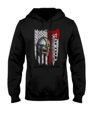 Flag Helmet Valhalla - Viking shirt Hooded Sweatshirt thumbnail