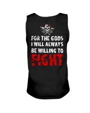 Be Willing To Fight - Viking Shirt Unisex Tank tile