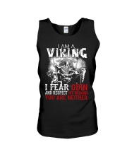 I Fear Odin And Respect My Woman You Are Neither Unisex Tank thumbnail