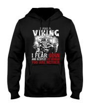 I Fear Odin And Respect My Woman You Are Neither Hooded Sweatshirt thumbnail