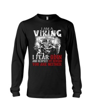 I Fear Odin And Respect My Woman You Are Neither Long Sleeve Tee tile