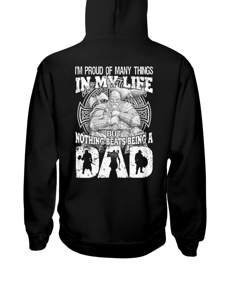 VIKING DAD - VIKING T-SHIRTS Hooded Sweatshirt