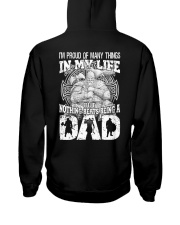 VIKING DAD - VIKING T-SHIRTS Hooded Sweatshirt back