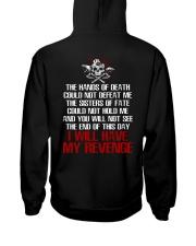 Viking Shirt - I Will Have My Revenge Hooded Sweatshirt thumbnail