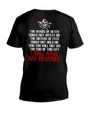 Viking Shirt - I Will Have My Revenge V-Neck T-Shirt tile