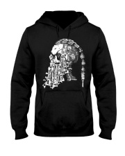Viking Shirt - Viking Weapon Skull Hooded Sweatshirt thumbnail