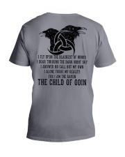 Viking Shirts : The Child Of Odin Raven V-Neck T-Shirt thumbnail