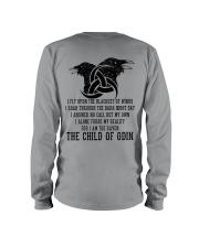 Viking Shirts : The Child Of Odin Raven Long Sleeve Tee thumbnail