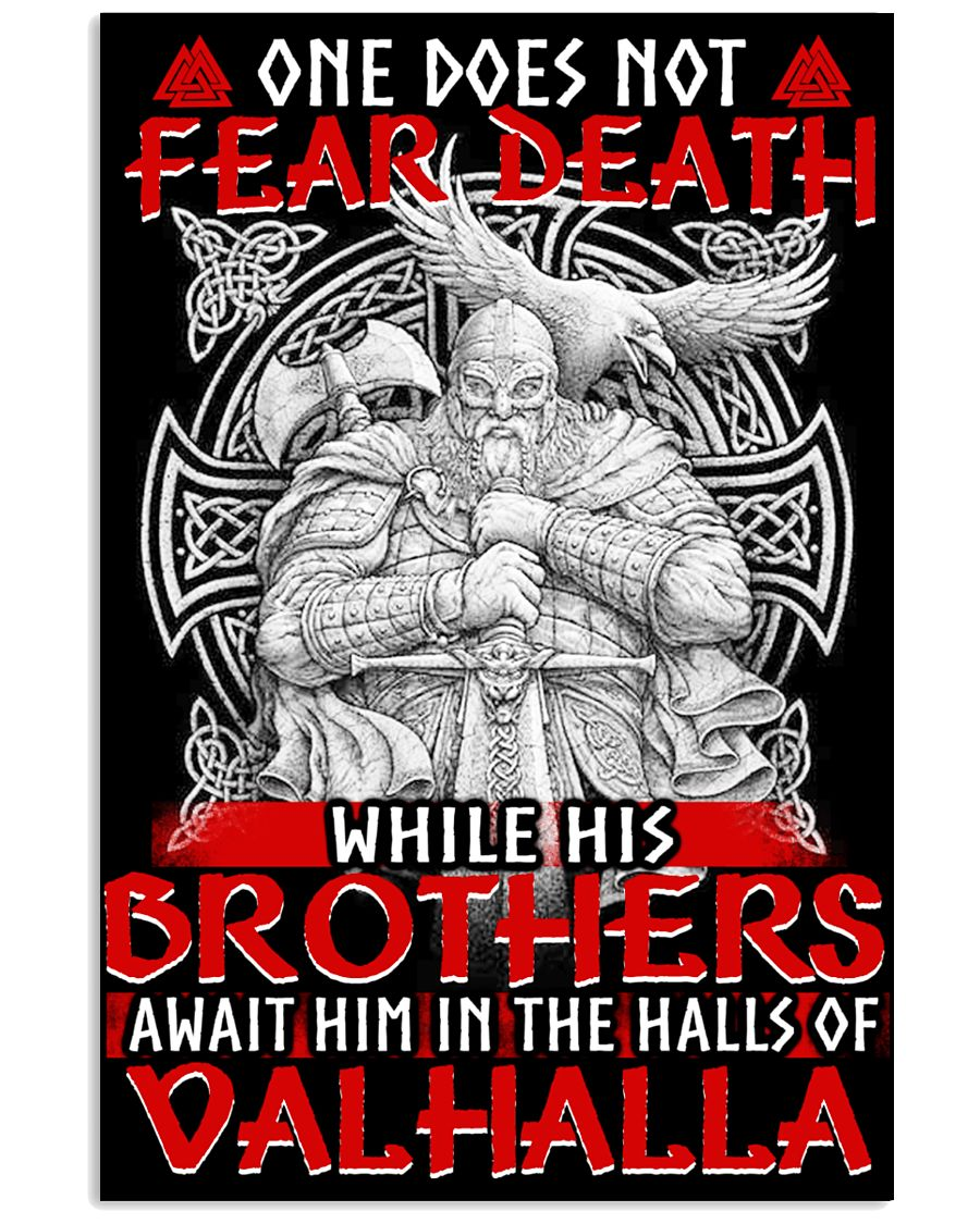 BROTHERS - VALHALLA - VIKING POSTERS 11x17 Poster