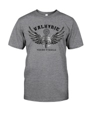 Viking Shirt : Valkyrie - Your ride to valhalla Classic T-Shirt front