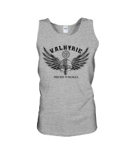 Viking Shirt : Valkyrie - Your ride to valhalla Unisex Tank thumbnail