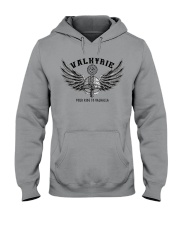 Viking Shirt : Valkyrie - Your ride to valhalla Hooded Sweatshirt thumbnail