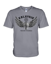Viking Shirt : Valkyrie - Your ride to valhalla V-Neck T-Shirt thumbnail