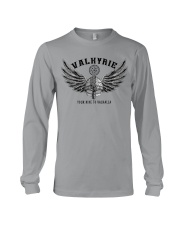 Viking Shirt : Valkyrie - Your ride to valhalla Long Sleeve Tee thumbnail